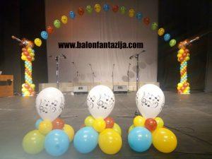 Dekoracija balonima u Smederevu promocije 1