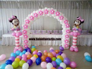 Dekoracija balonima u Smederevu rodjendani 1