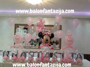 dekoracija balonima za rodjendane 4